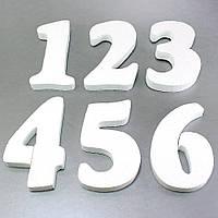 Объемные цифры из пенополистирола