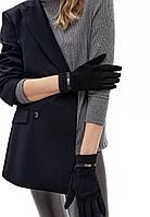 Перчатки из экозамши, цвет черный, размер L, фото 1