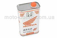 """Масло   4T, 1л   """"HONDA""""   (SAE 10W40, полусинтетика)   (Корея)"""