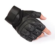 Тактичні рукавички безпалі (велоперчатки, мотоперчатки) Maco Gear P10