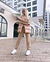 Женский теплый костюм тройка 42, 44, 46, 48 размеры, фото 1