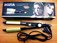 Утюжек для выпрямления и завивки волос ROZIA HR-705
