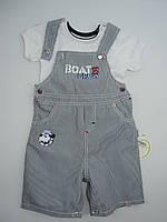 Летний костюмчик для мальчика  0-2 года