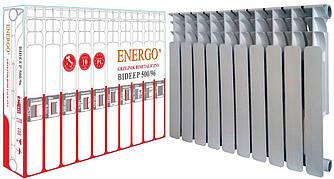 Радіатор біметалічний секційний ENERGO BIDEEP 500/96 (кратно 10)