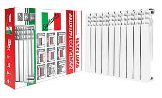 Радіатор біметалічний секційний GALLARDO BIHOT 500/96 (кратно 10)