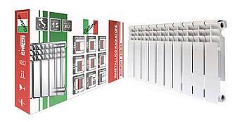 Радиатор биметаллический секционный GALLARDO BISHORT 350/80 (кратно 10)