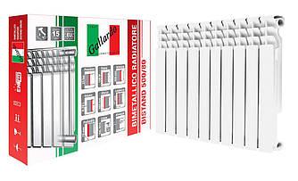 Радіатор біметалічний секційний GALLARDO BISTAND 500/80 (кратно 10)