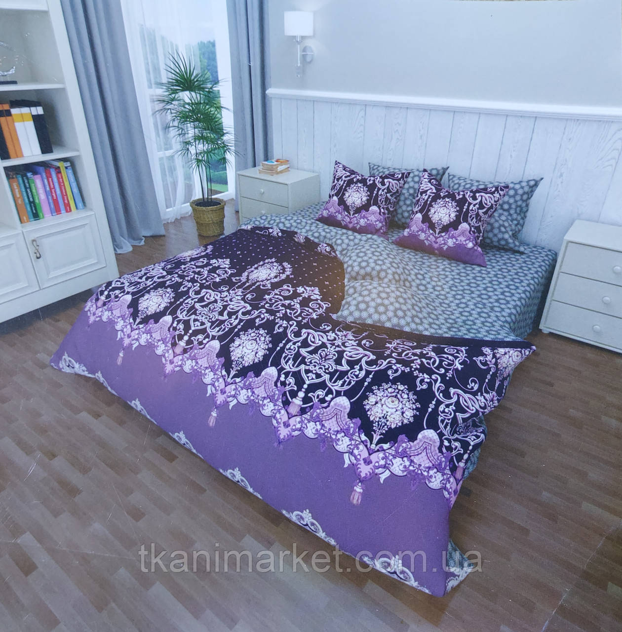 Бязь Gold Lux GL23 постельная ткань Пакистан