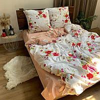 """Хлопковое постельное белье из ткани бязь расцветки """"Цветочный пассаж"""", фото 1"""