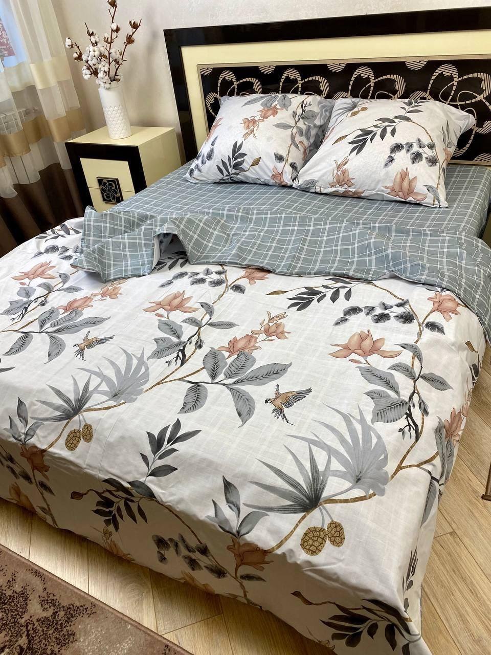 """Хлопковое постельное белье из ткани бязь расцветки """"Корелли"""""""