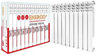 Радиатор биметаллический секционный ENERGO BIWIDE 500/96