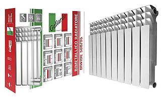 Радіатор біметалічний секційний GALLARDO BIWIDE 500/96