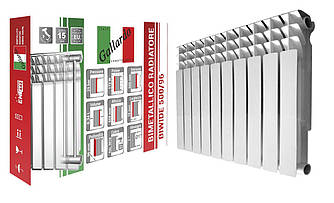 Радиатор биметаллический секционный GALLARDO BIWIDE 500/96