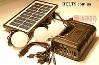Фонари Аккумуляторные c солнечной батареей GDLite GD-8037
