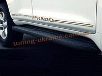 Пороги оригинальные для Toyota Prado FJ150 (2010)