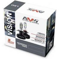 LED лампа AMS VISION-R H3 6000k CSP ціна за 1 штуку