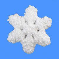 Декоративное украшение Снежинка 13см