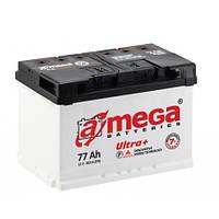 Аккумулятор автомобильный A-mega 6СТ-77 АзЕ Ultra+