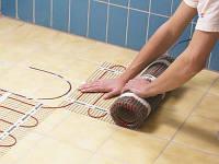 Тепла підлога електричний