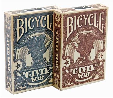 Карты Игральные | Bicycle Civil War