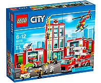 Lego City Пожежне депо