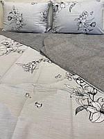 """Бавовняна постільна білизна зі тканини бязь кольору """"Аріель"""", фото 1"""