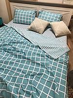 """Хлопковое постельное белье из ткани бязь расцветки """"Тихая гавань"""""""