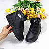 Повседневные черные спортивные женские ботинки кроссовки в ассортименте, фото 2