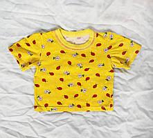 Детская летняя футболка 74 размер