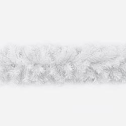 Гірлянда хвойна Classic з плівки 5 м біла