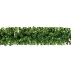 Гірлянда хвойна Classic з плівки 16 м зелена