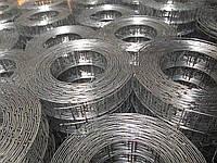 Сварная оцинкованная сетка 12х12 (0.8мм)