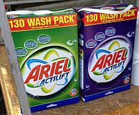 Стиральный порошок универсальный АРИЭЛЬ Ariel Actilift GIGA XXL pack 10.4 кг (картонная коробка) 130 стирок.