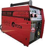 Напівавтомат зварювальний Edon MIG-308 (+MMA), фото 4