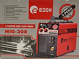 Напівавтомат зварювальний Edon MIG-308 (+MMA), фото 8