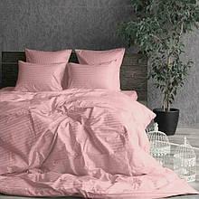 Комплект постельного белья Сатин Stripe LIGHT PINK 1/1см (Полуторный)