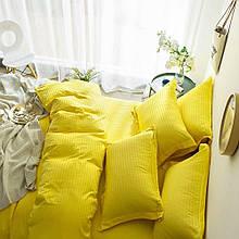 Комплект постельного белья Stripe LUX YELLOW 1/1см (Полуторный)
