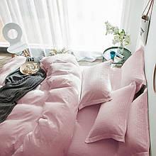 Комплект постельного белья Stripe LUX PINK 1/1см (Полуторный)
