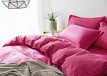 Комплект постельного белья Stripe LUX FUCHSIA 1/1см (Полуторный)