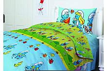 Комплект постельного белья ТЕПподростковый 951 Смурфики, 50x70