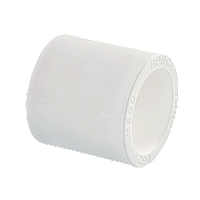 Муфта поліпропіленова 25 Tebo біла