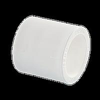 Муфта поліпропіленова 40 Tebo біла