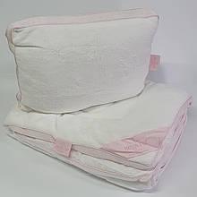 Набор детский Maison D'or Одеяло и Подушка Coral Pink
