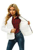 Куртка женская укороченная стеганная плащевка Размеры: 42, 44, 46