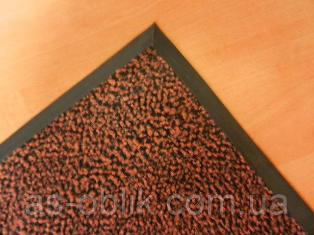 Грязезащитные ворсовые ковры «Париж» коричневый