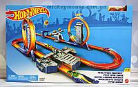 Трек Хот Вилс Двойное ускорение Hot Wheels Track Builder Total Turbo BGX89, фото 1