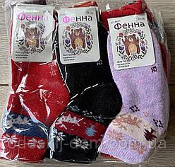 Дитячі шерстяні шкарпетки з махрою тм Фенна р25-30