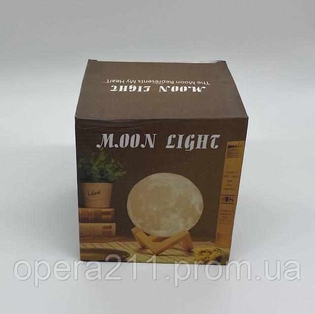Нічник Moon Light Control 3D світильник місяць 3 режими (13 см USB) / ART-0518 (36шт)