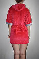 Молодежный велюровый халатик, фото 2
