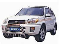 Кенгурятник с защитой на Toyota RAV 4 2006-13